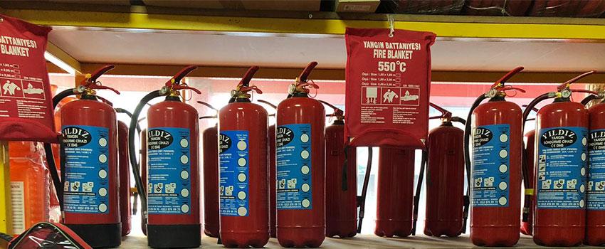 Yangın Tüpleri - Ürün Grubu Kapak Resmi