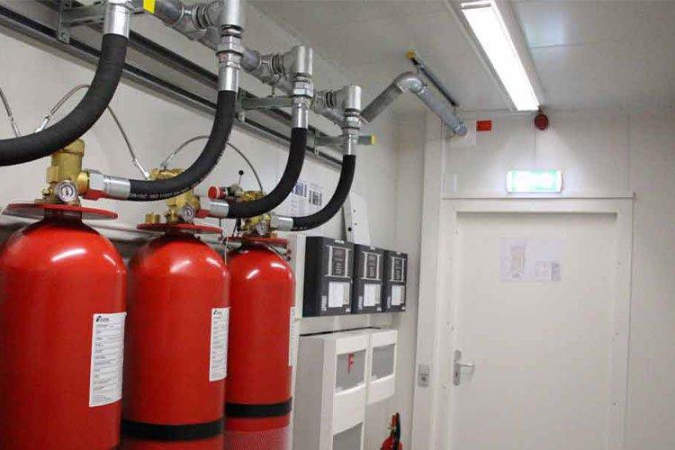 Elektrikli Pano İçi Yangın Söndürme Sistemleri